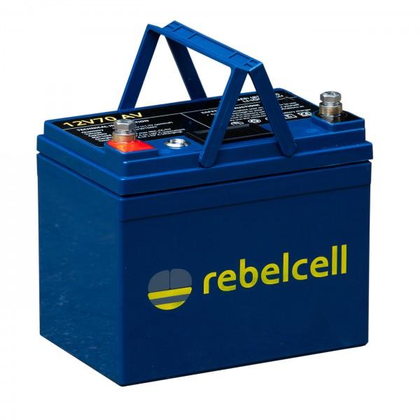 Rebelcell 12V 70AH inkl. Lader
