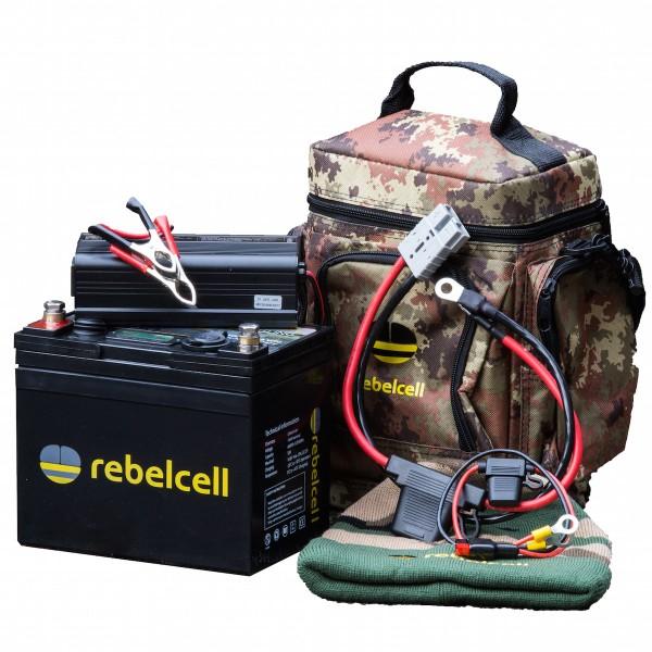Rebelcell Ultimate 12V 50AH Paket COMFORT