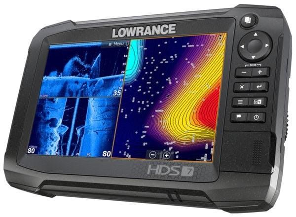 Lowrance HDS 7 Carbon Kombigerät Totalscan Geber