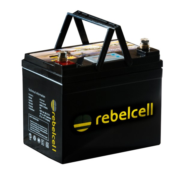 Rebelcell Ultimate 12V 50AH inkl. Lader