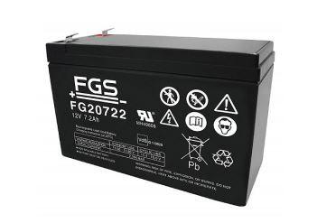 FGS 12V 7,2AH Echolotbatterie