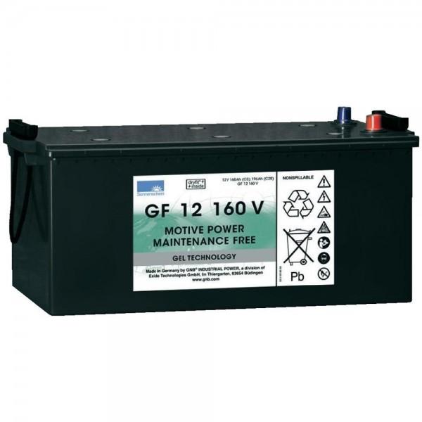 12 V 160 Ah Sonnenschein GNB GF12160V