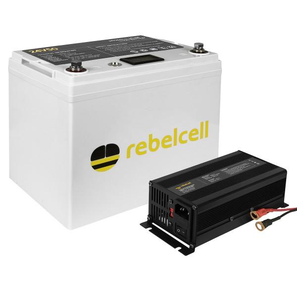 Rebelcell Ultimate 24V 50AH inkl. Lader