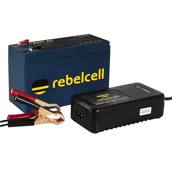 Rebelcell 12V 7AH inkl. Lader
