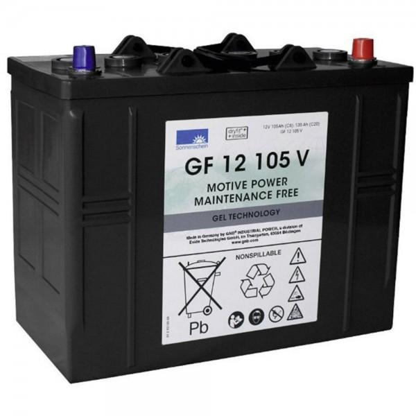 12 V 105 Ah Sonnenschein GNB GF 12105V