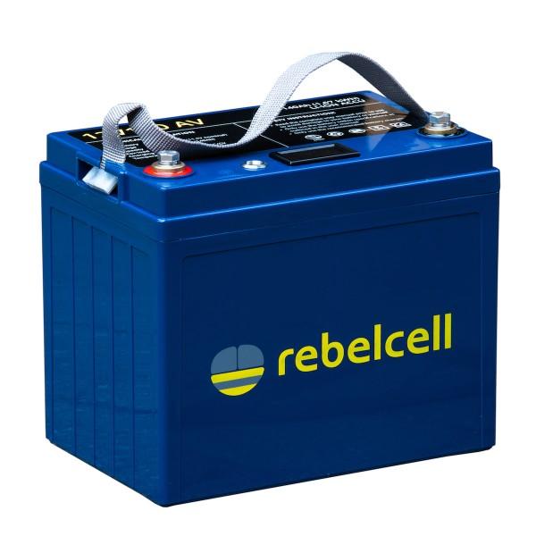Rebelcell 12V 140AH inkl. Lader